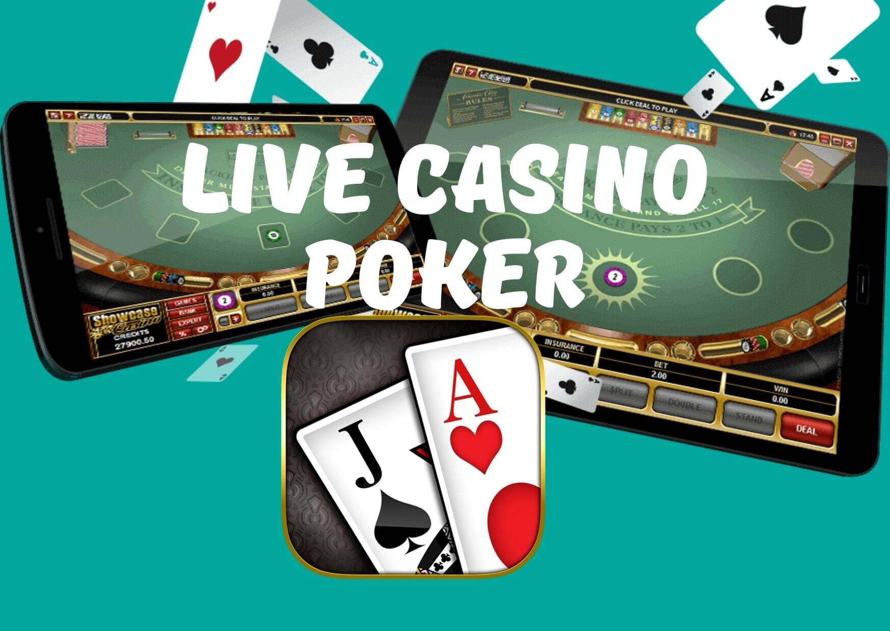 live casino poker